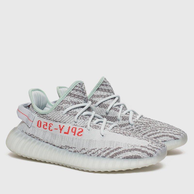 Кроссовки Adidas Yeezy Boost 350 V2 Blue Tint Grey