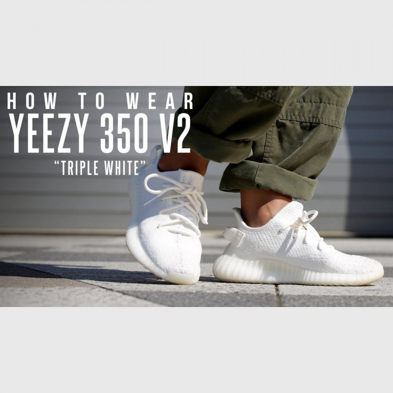 Кроссовки Yeezy Boost 350 V2 Triple White